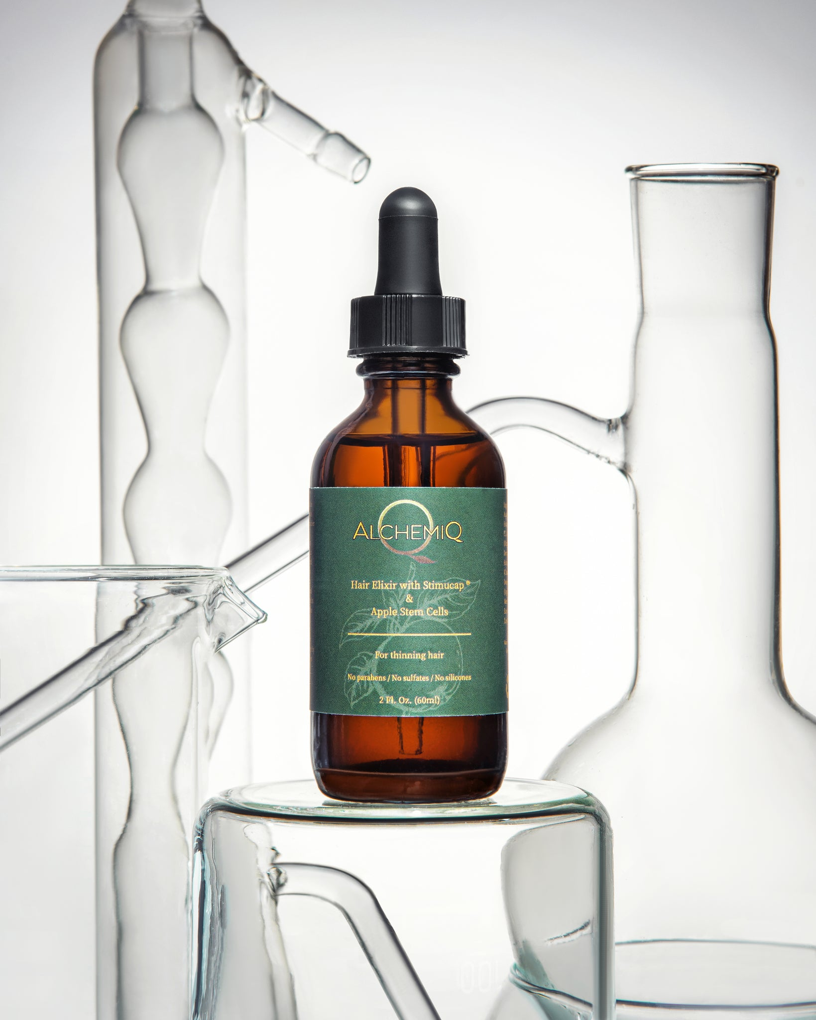 HAIR ELIXIR WITH STIMUCAP® & APPLE STEM CELLS - AlchemiQ Cosmetics