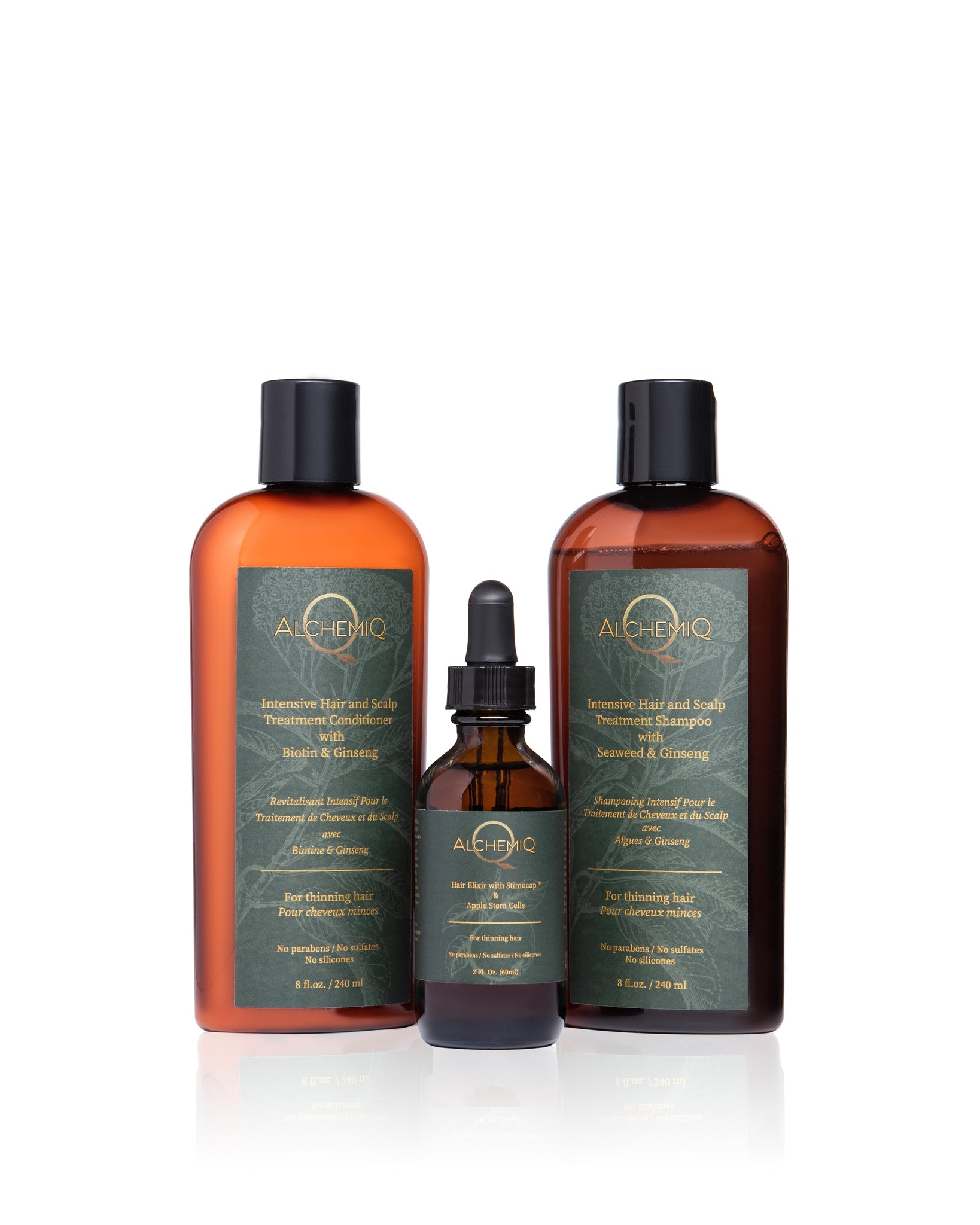 INTENSIVE HAIR & SCALP TREATMENT BUNDLE - AlchemiQ Cosmetics