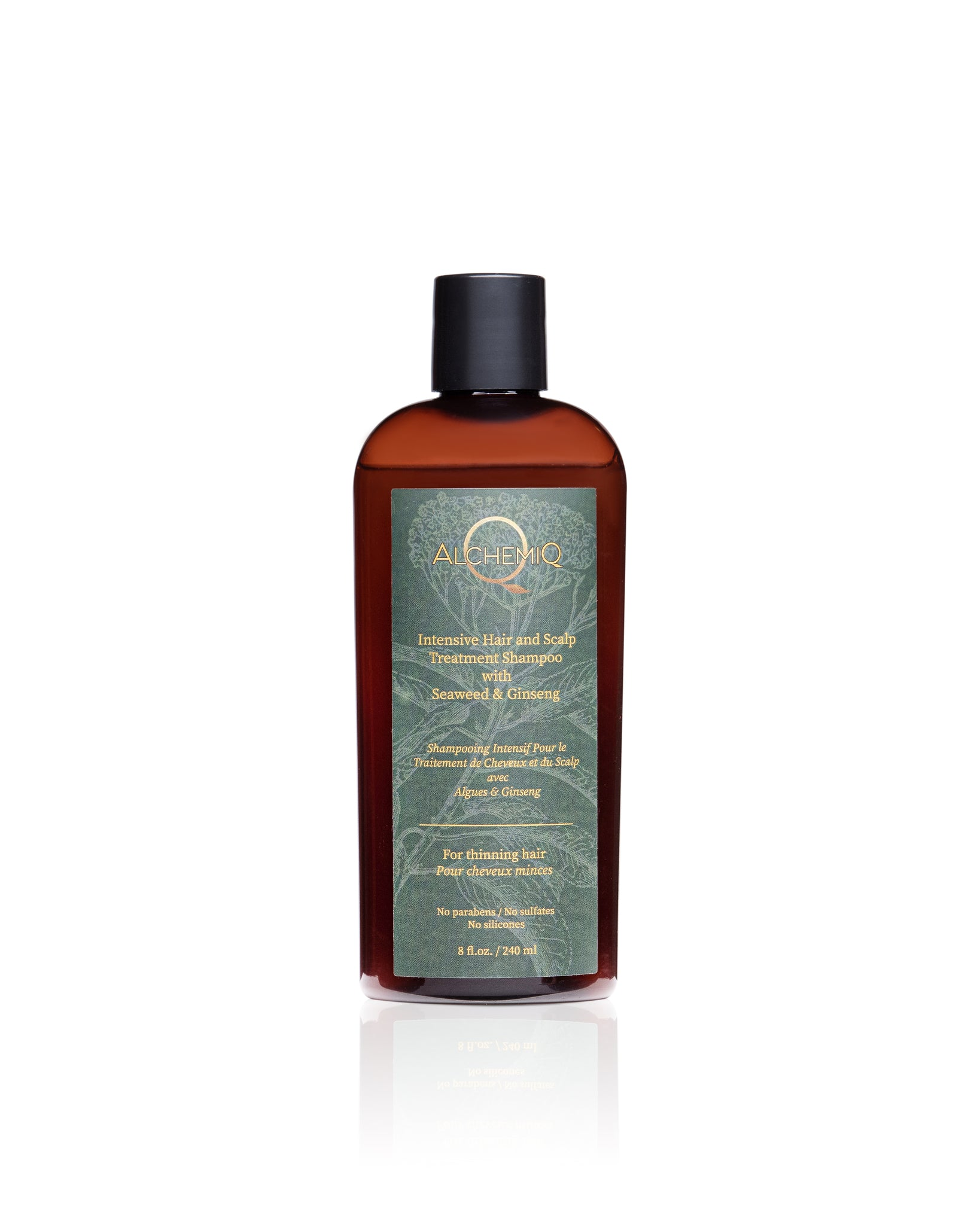 INTENSIVE HAIR & SCALP TREATMENT SHAMPOO - AlchemiQ Cosmetics