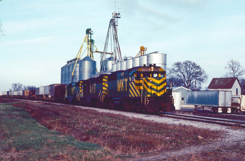 MKT train at Rockville, Missouri