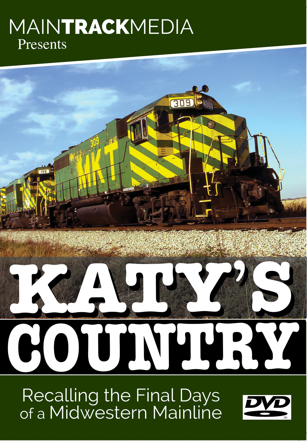 Katy's Country: Recalling the Final Days of a Midwestern Mainline (DVD Video)