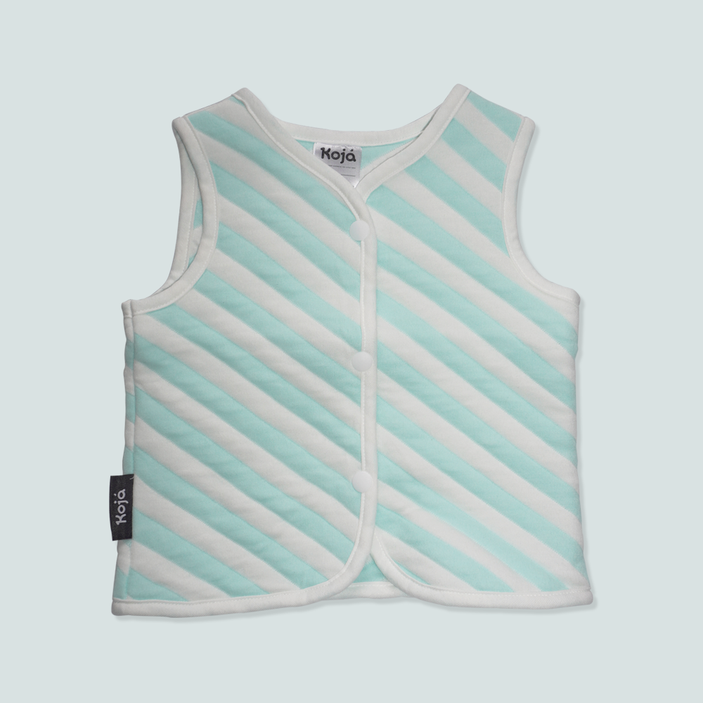 Mint Marshmallow Sleep Vest