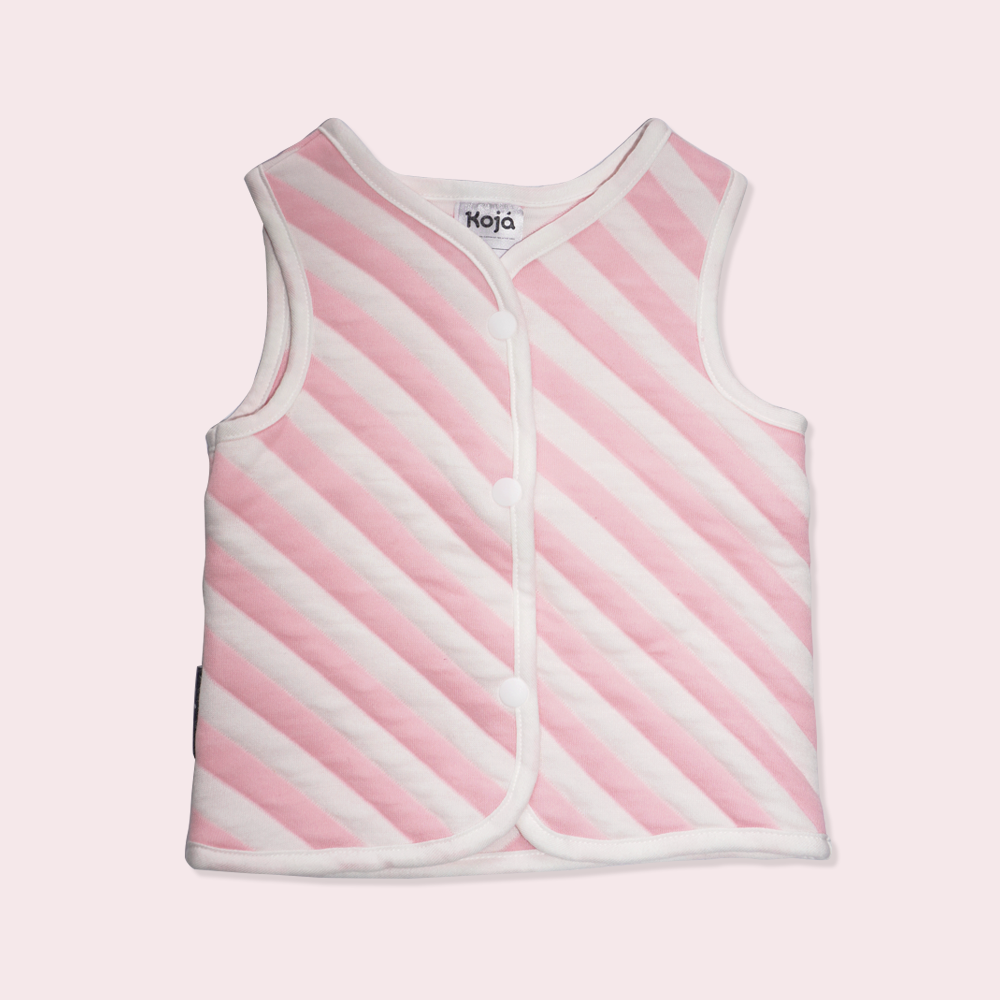 Pink Marshmallow Sleep Vest