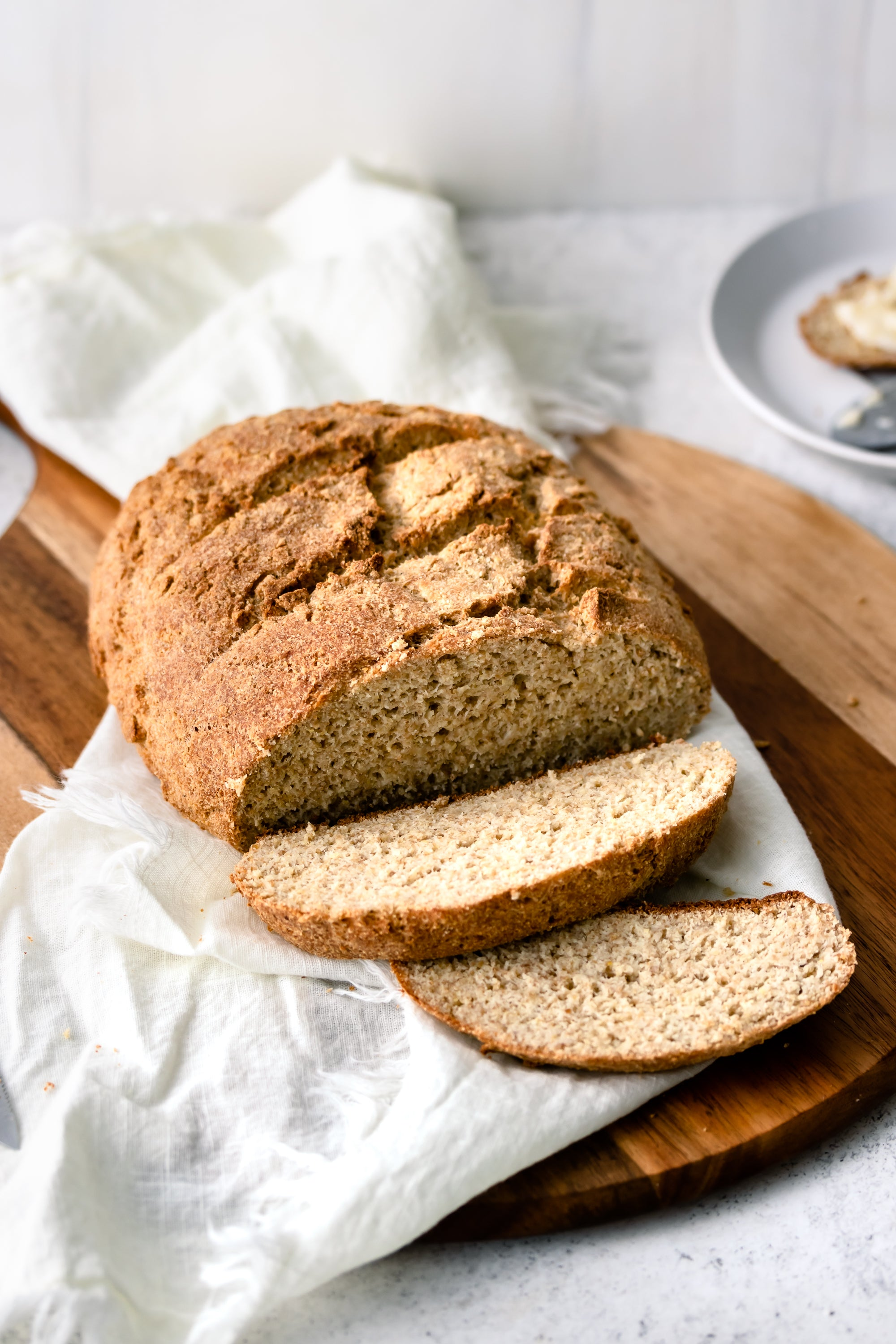 This easy-to-make keto approved bread is perfect not only for any dieter but, anyone gluten-free too!! TWO NET CARBS per serving