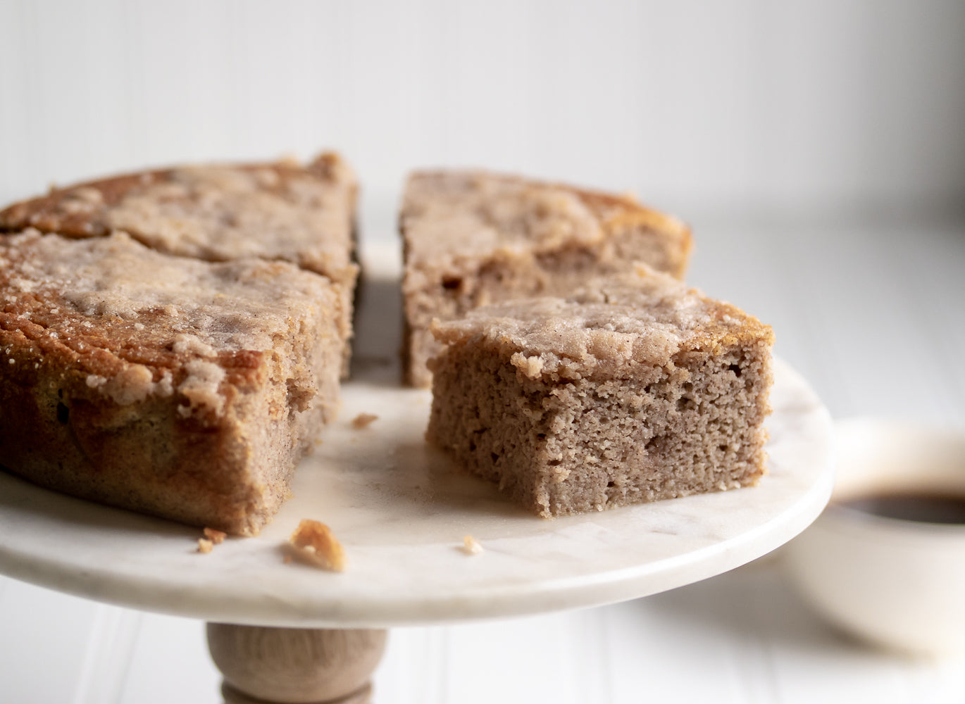 Low Carb Cinnamon Coffee Cake
