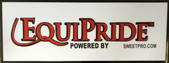 Equipride Banner 4ft x 10ft