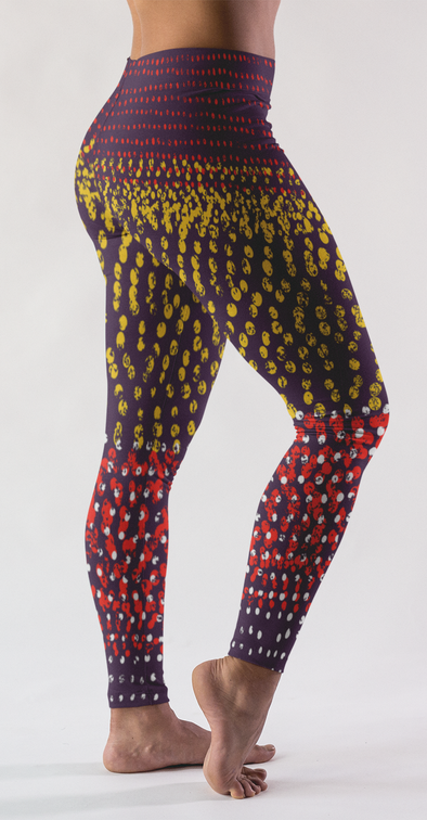 Lavish Color Block Leggings - LAVISH