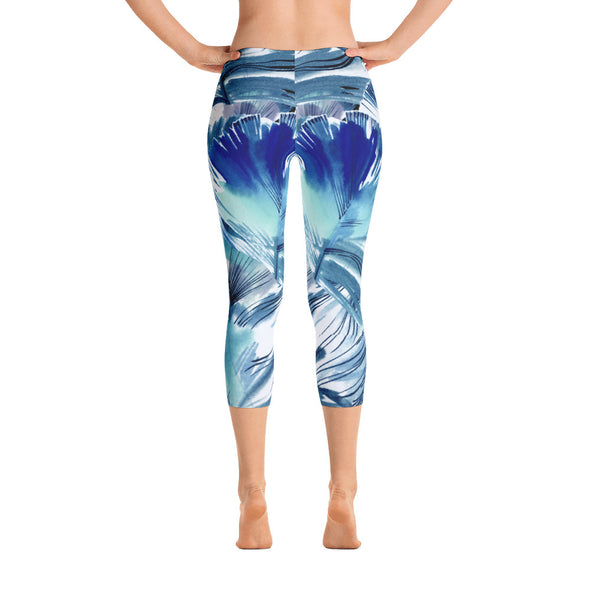 Ocean Blue Leggings - LAVISH