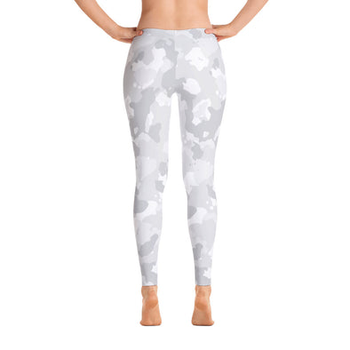 Go Gray Camo Leggings - LAVISH