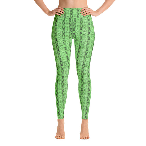 Show off Snakeskin Leggings - LAVISH