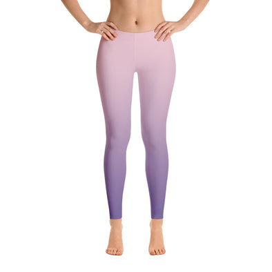 Pastel Ombre Leggings - LAVISH