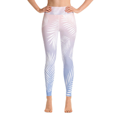 Lavish Palm Leaf Leggings - LAVISH