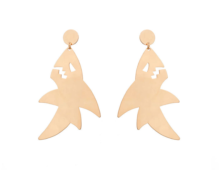 University of Mississippi Shark Earring
