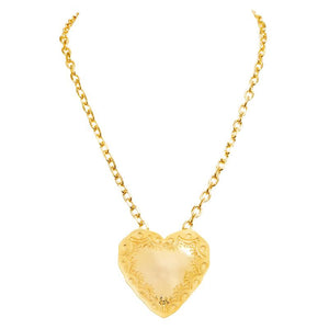 Heart Pendant in Gold