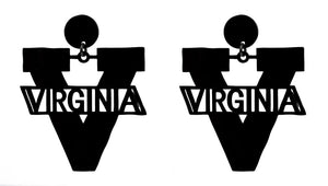 University of Virginia V Earring