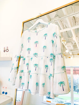Palm Tree Las Salinas Blouse