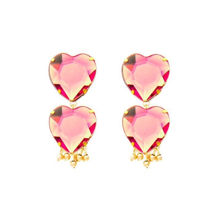 Precioso Earrings in Coral