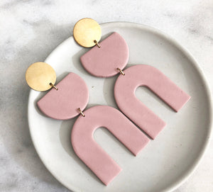Misha Earring in Rose