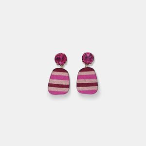 Hand Wrapped Earrings in Constanza -Sale