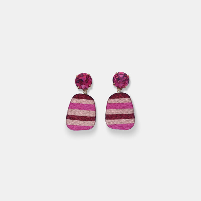 Hand Wrapped Earrings in Constanza