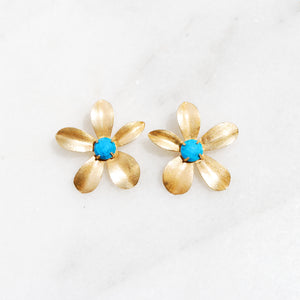 Turquoise Lindy Earrings