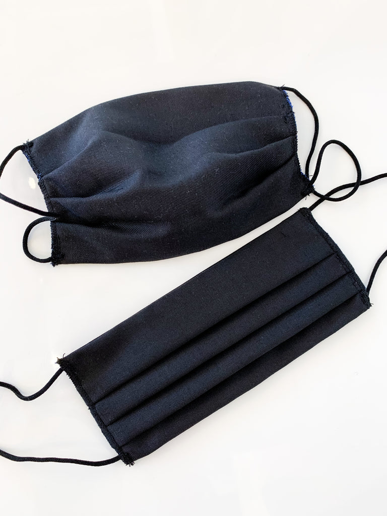 Fabric Face Mask in Black