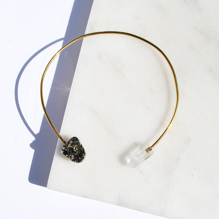 W- Crystal Origin Necklace