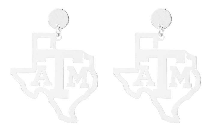 Texas A&M State Earring