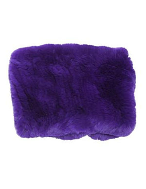 Rex Rabbit Fur Funnel in Knock Out Royal Purple