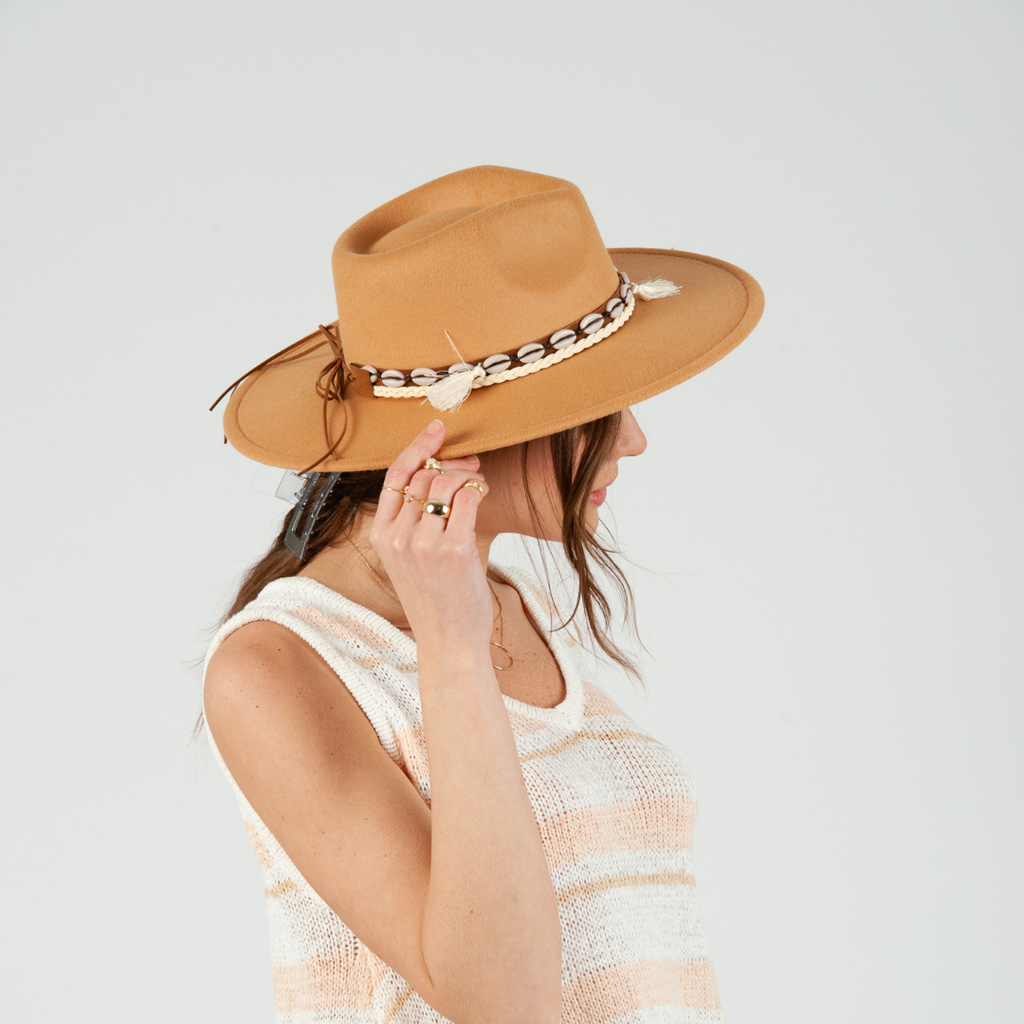 Conch Rancher Hat in Camel