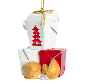 Resin Chinese Food Ornament