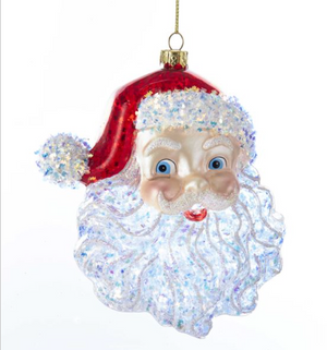 Santa Head Ornament
