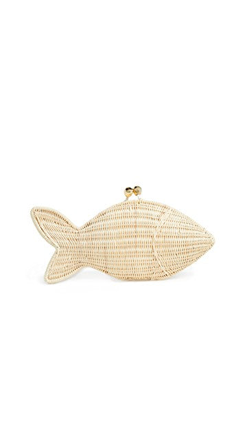 Fish Wicker Bag