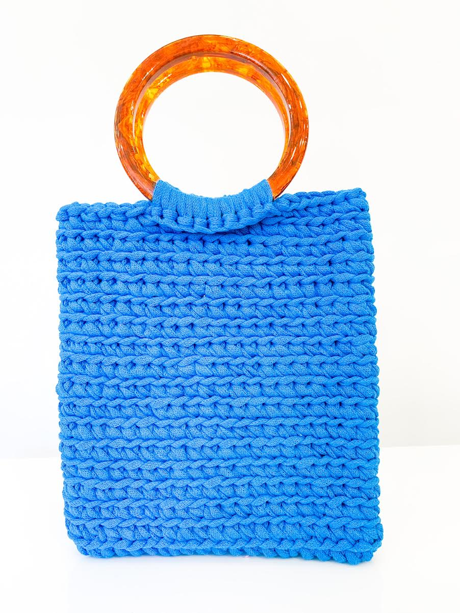 Cabana Tote in Blue
