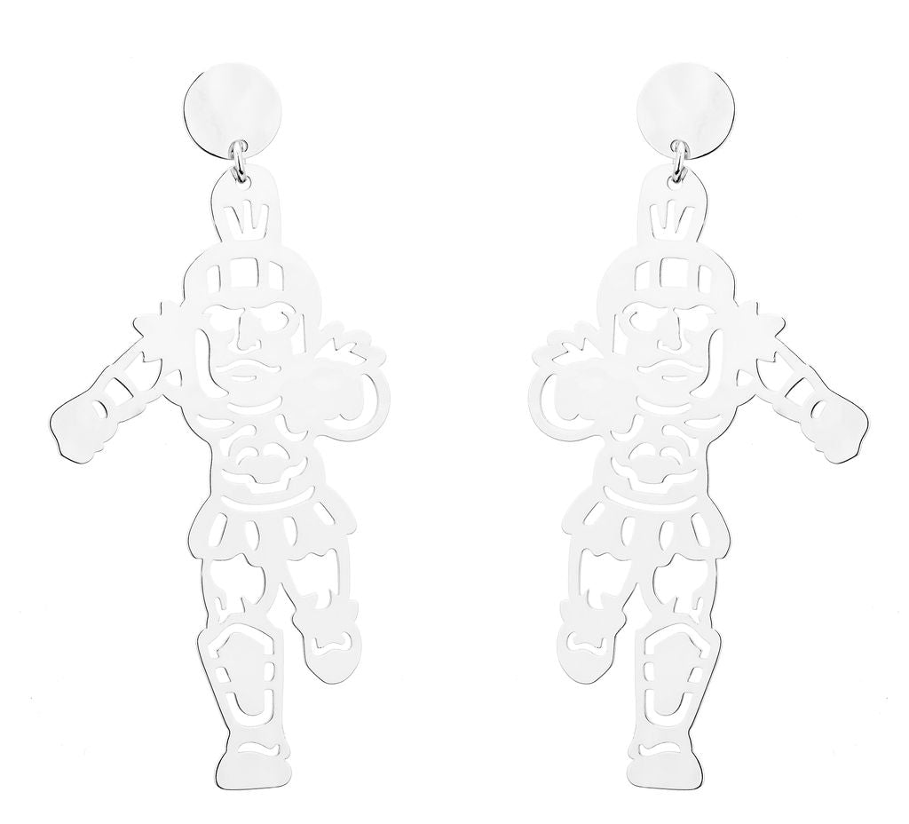 Pre-Order Michigan State Running Spartan Earring