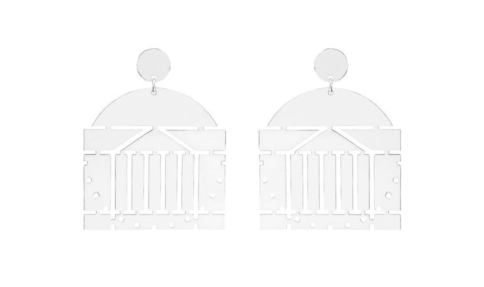 University of Virginia Rotunda Earring