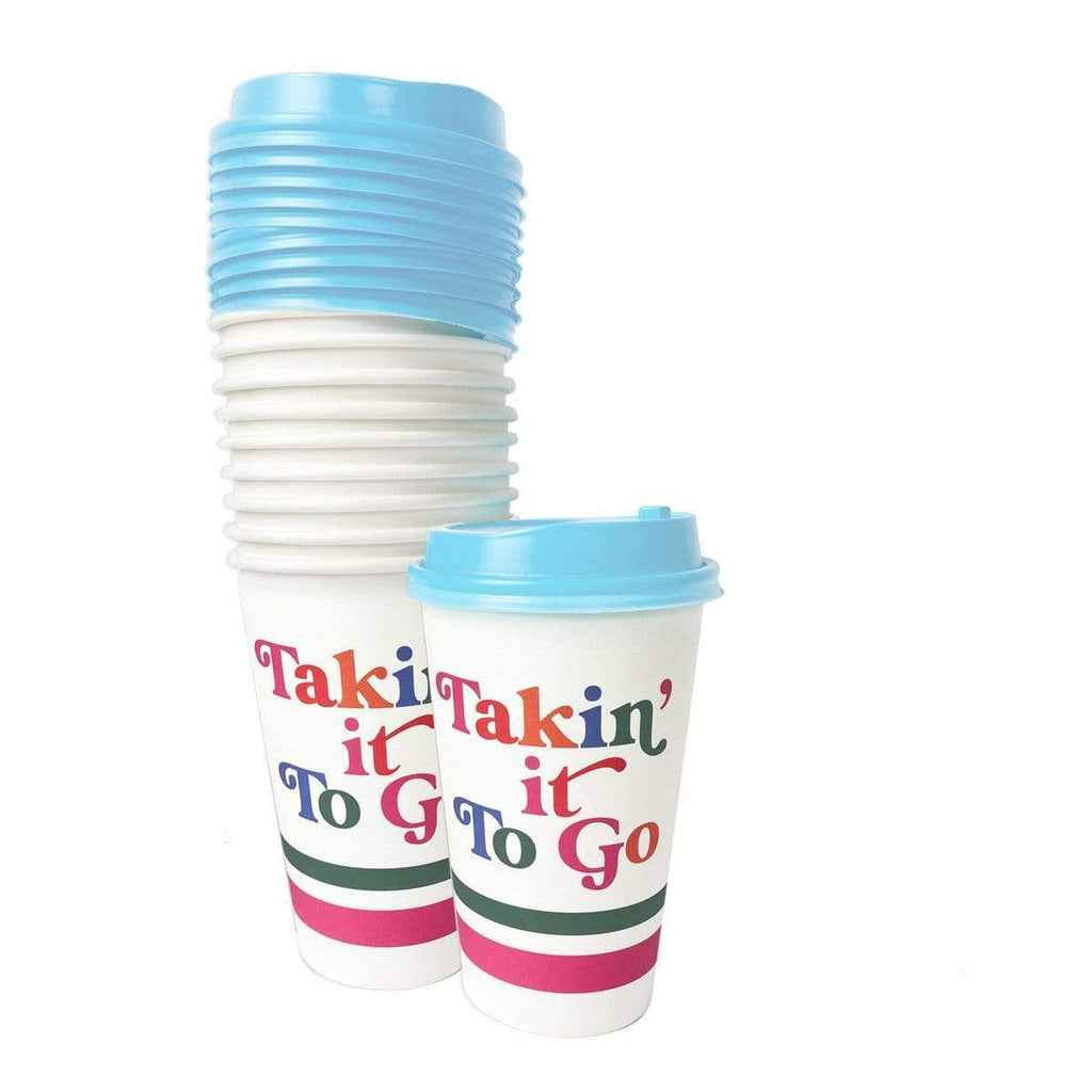 Takin' it To Go Coffee Cups
