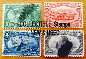 Collectible Stamp Header