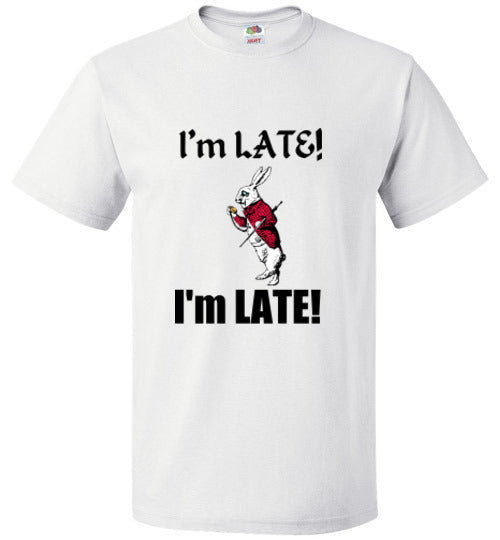 I'm LATE! I'm LATE! - White RABBITT