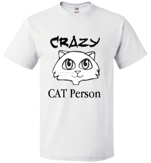 CRAZY CAT PERSON