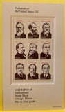 STAMPS - USA - Mint - 1986 AMERIPLEX - Presidents of the US - 1-set