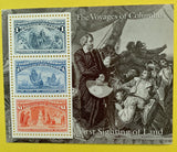 STAMPS - USA -1992 Columbian Expo Souviner Sheets