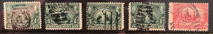 STAMPS - USA - USED - 1907 - Jamestown Exposition Singles