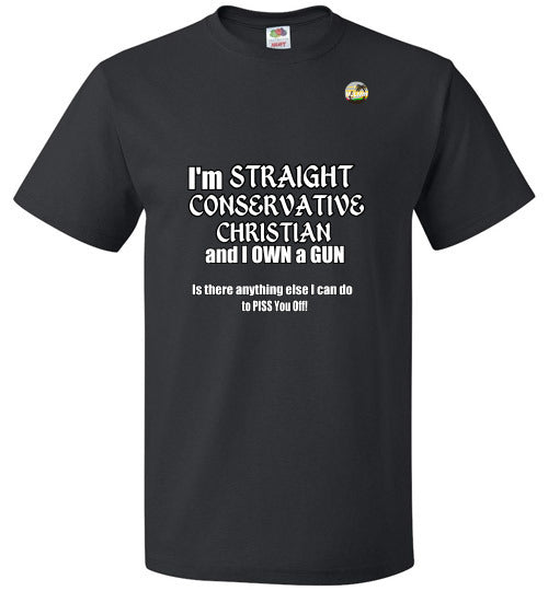 I'm Straight, Conservative, Christian and I Own a Gun
