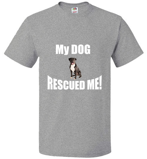 My DOG RESCUED ME!