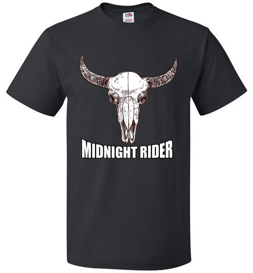 MIDNIGHT RIDER - Buffalo Skull