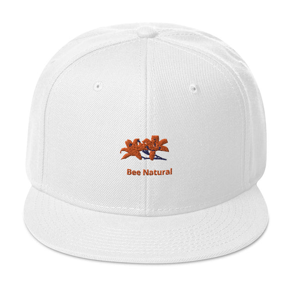 BEE NATURAL - Snapback Hat - w/Tiger Lily