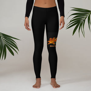 BEE NATURAL - Leggings - w/Tiger Lily