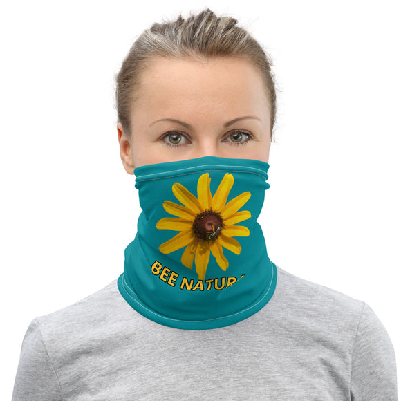 Bee Natural, Neck Gaiter, Face Mask - w/Wildflower