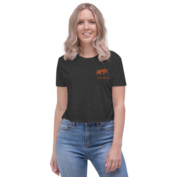 Bee Natural - Crop Tee - w/Tiger Lily